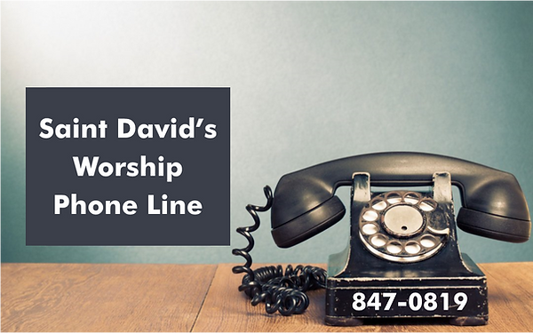 Saint David's Worship Phone Line.png
