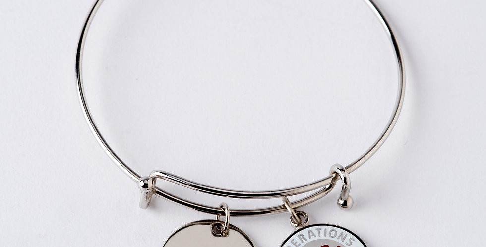 Patriotic Double Charm with Bangle