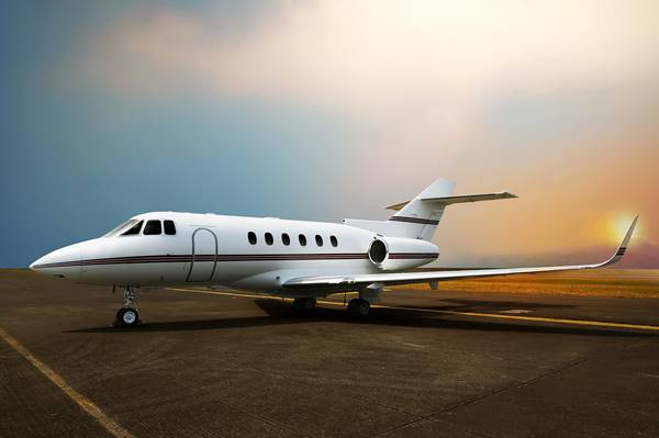 private jet_klein