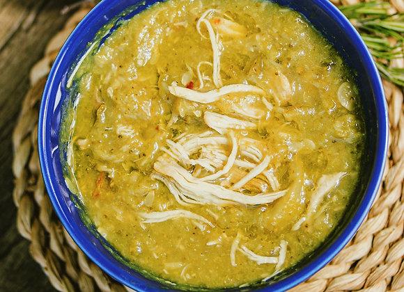 Sopa detox e lowcarb: Abobrinha com brócolis e frango