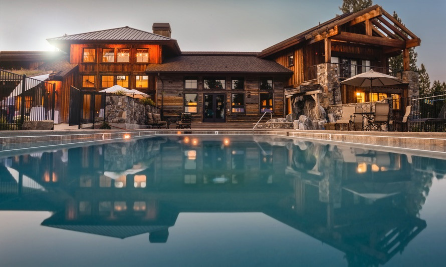 large home with a pool