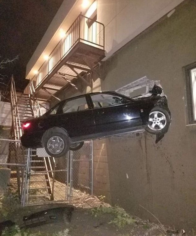 car in wall cancel collision coverage