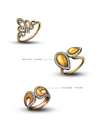 Textured Jewelry