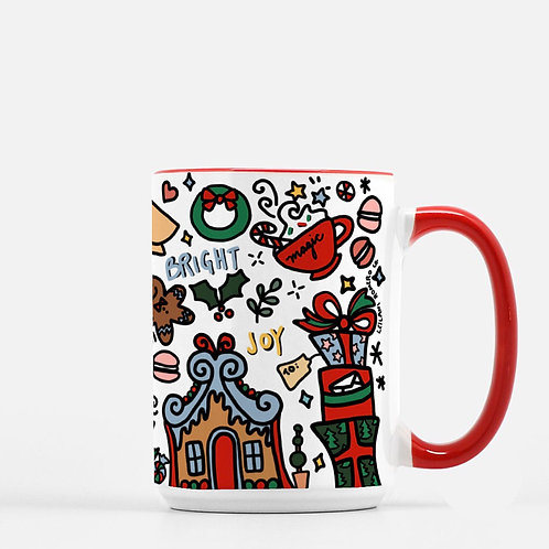 Holiday Gingerbread | 15 oz. Deluxe Mug