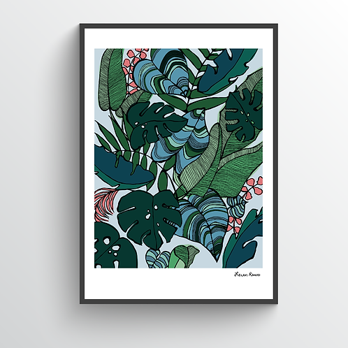 Palm Botanical | Print