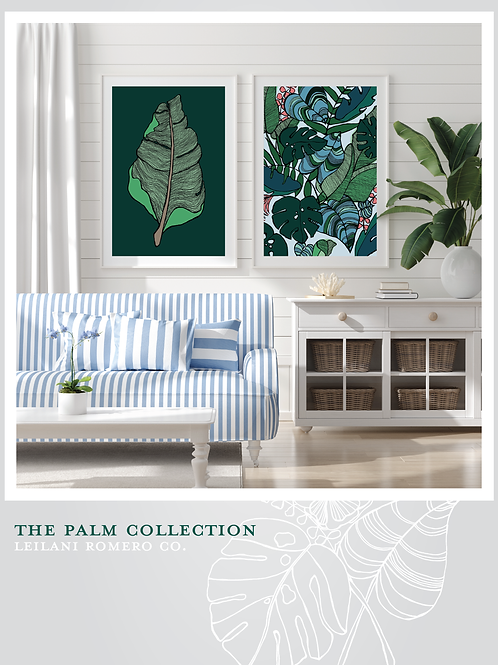 Palm Collection Pair   Print Diptych
