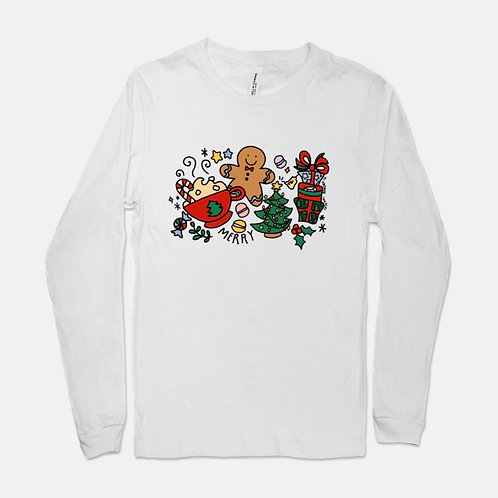 Holiday Gingerbread | Long Sleeve Tee