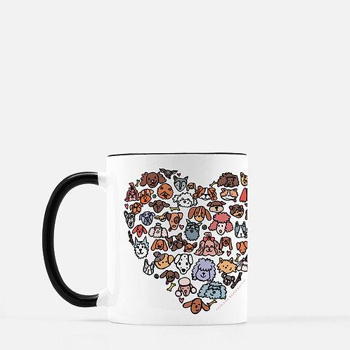 Puppy Lovers | Mug
