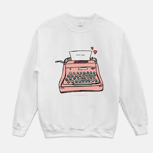 Typewriter Love | Crewie