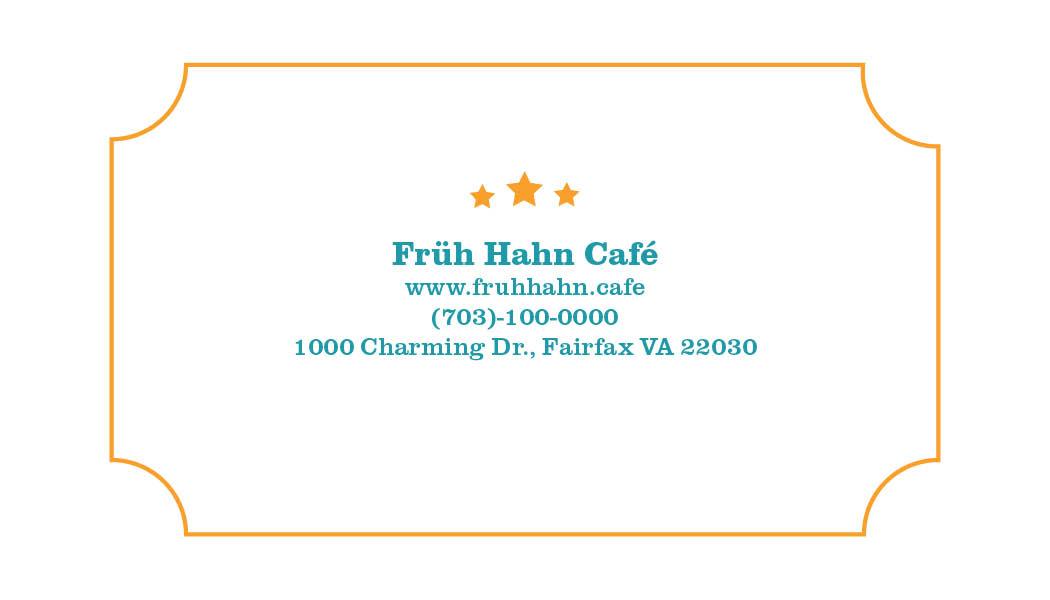 Fruh Hahn Cafe