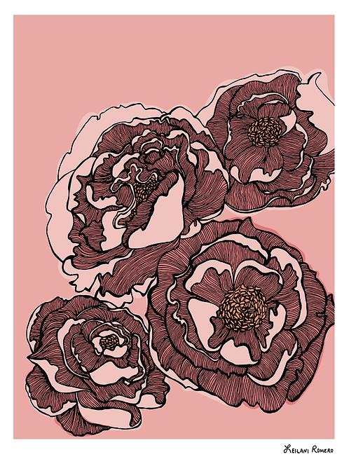 Dreamy Peonies | Print