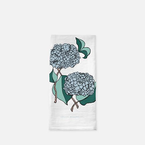 Hydrangea Pair | Tea Towel