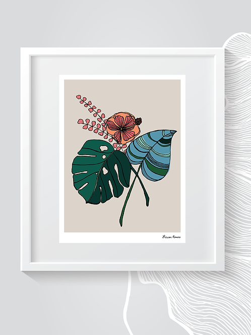 Tropical Botanical | Print