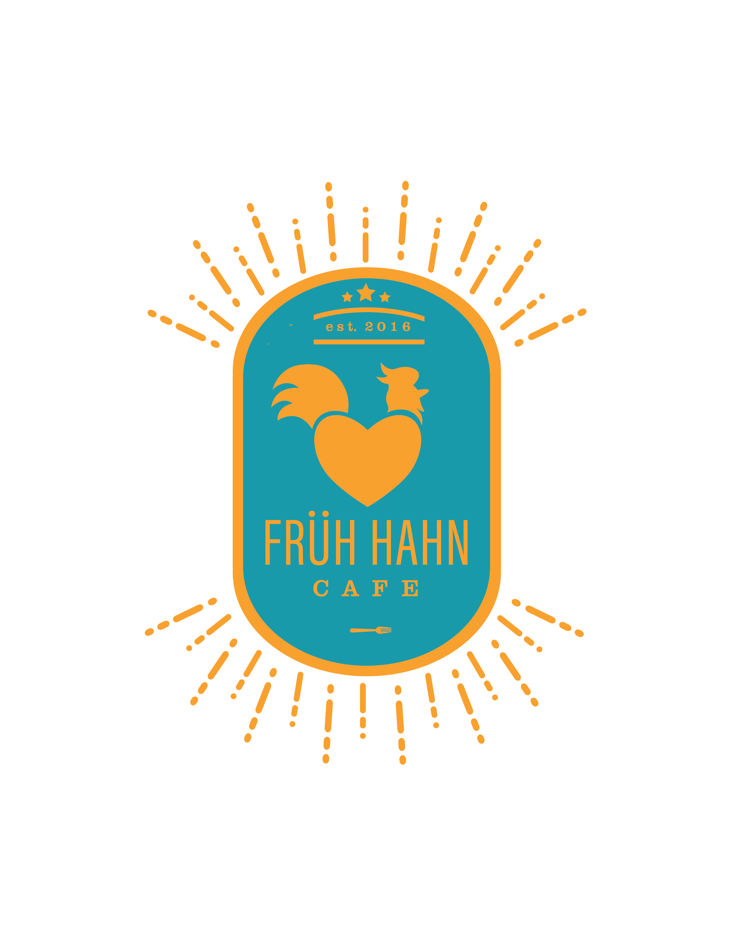 Fruh Hahn Cafe Logo