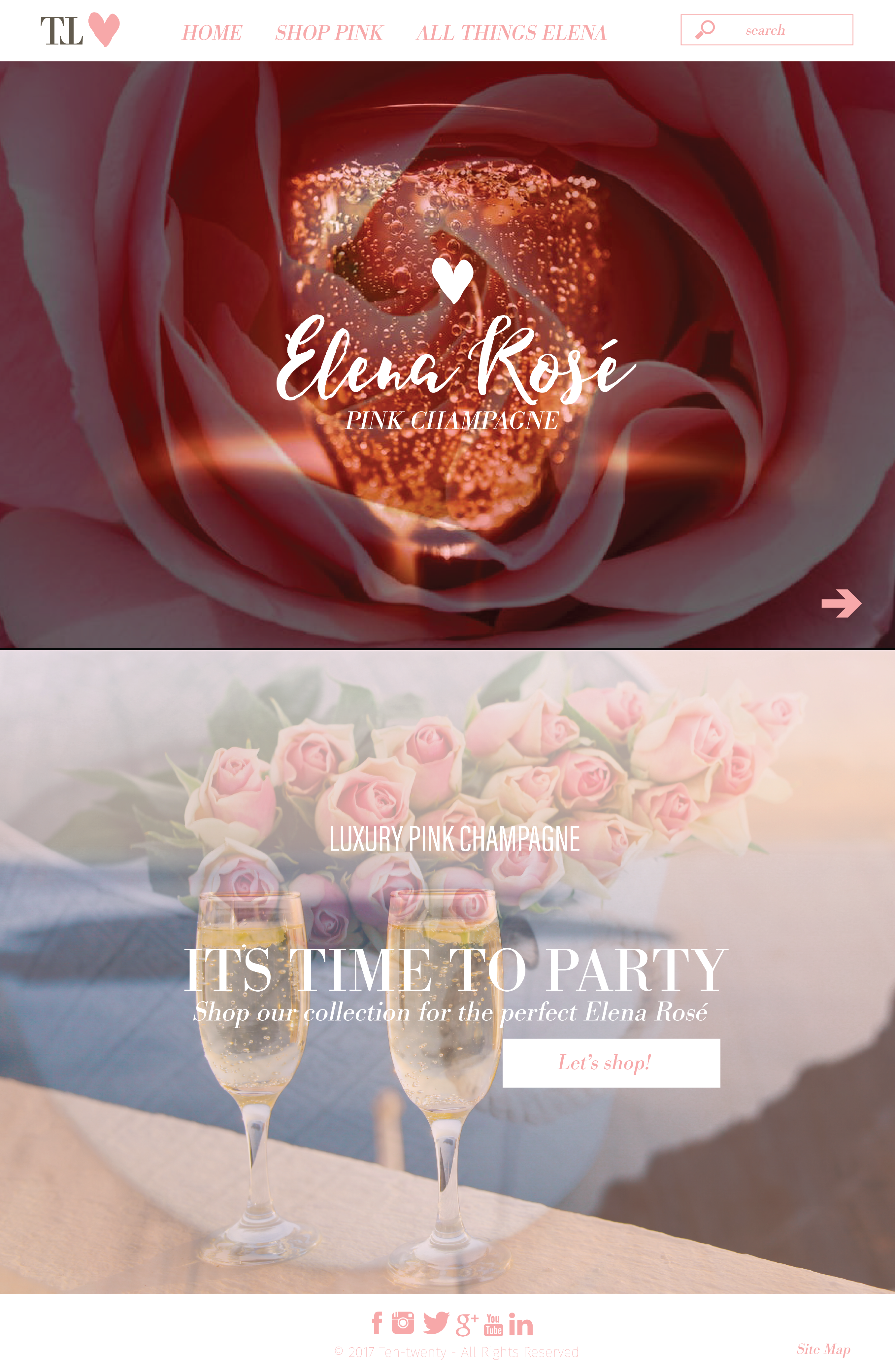 Elena Rose Website