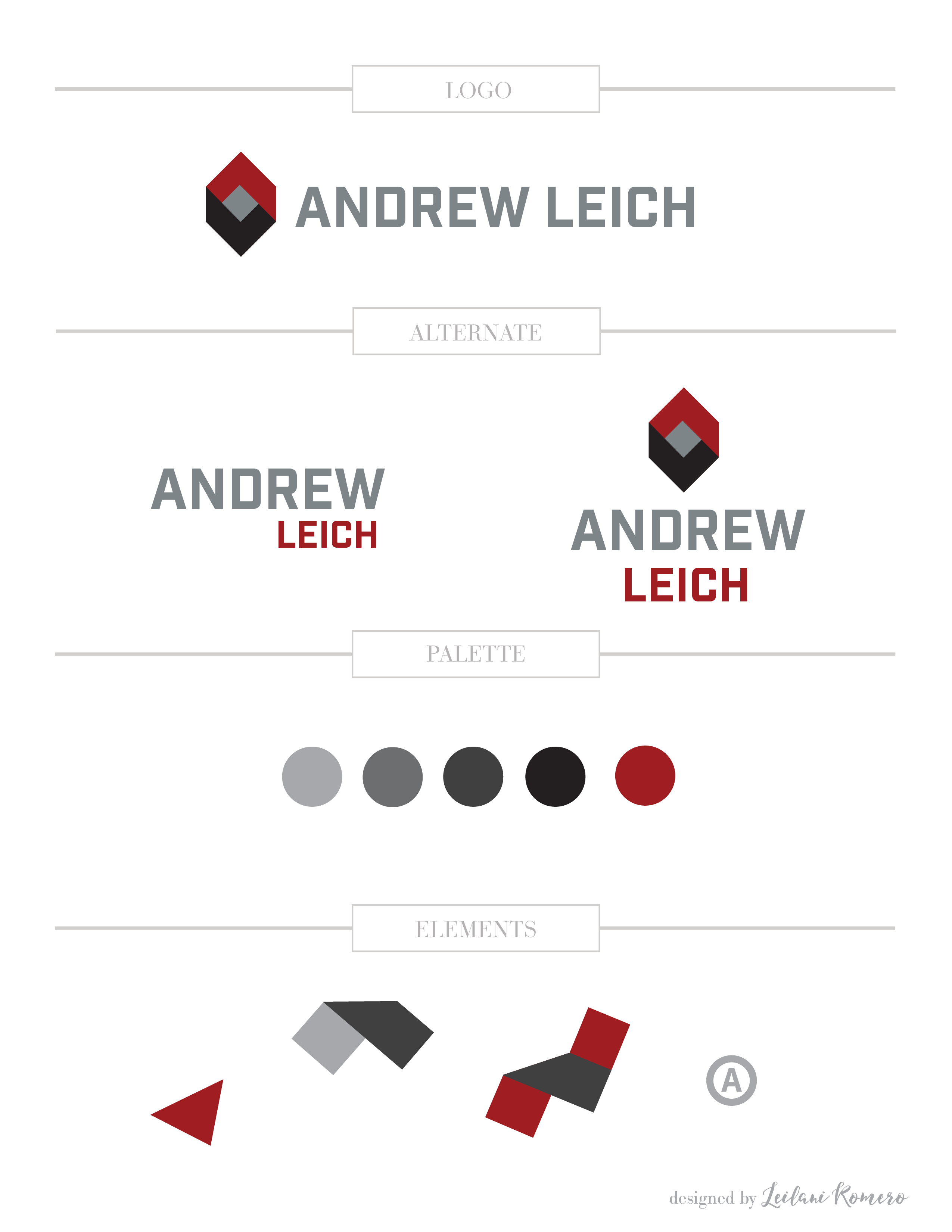 Andrew Leich Logo