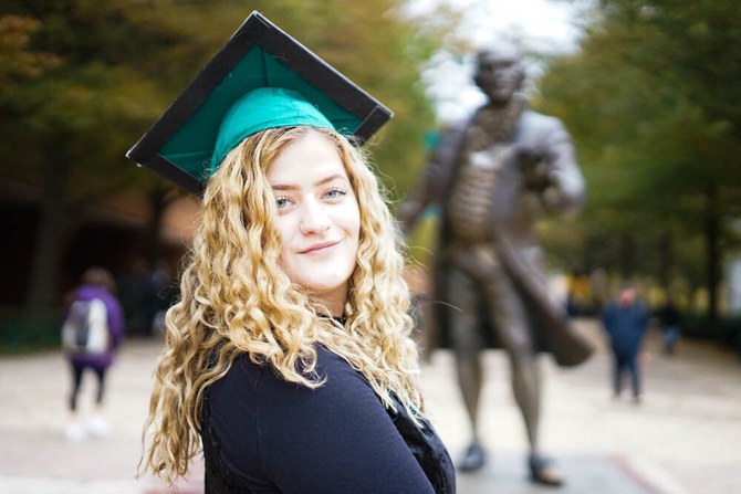 Grad Senior Session | Heather