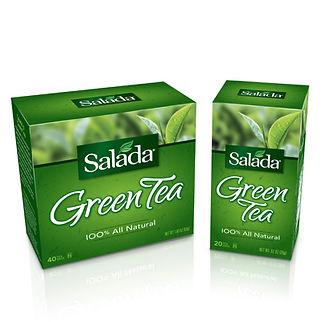 Salada Green Tea Packaging