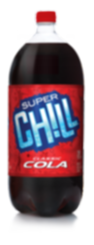 Super Chill Classic Cola Bottle Design Hughes BrandMix