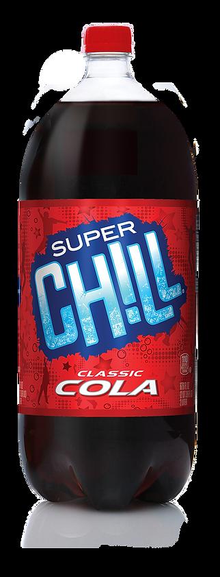 Super Chill Classic Cola Bottle Design Hughes BrandMix