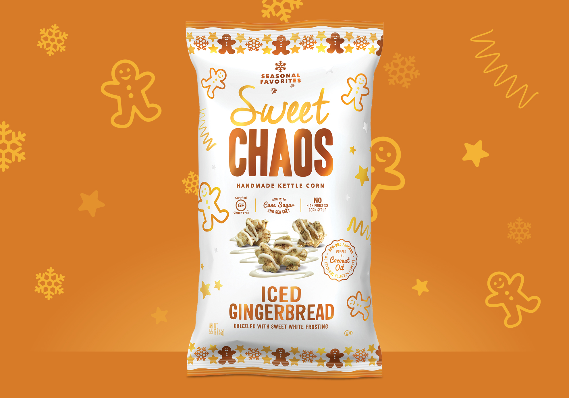 Sweet Chaos Seasonal Popcorn
