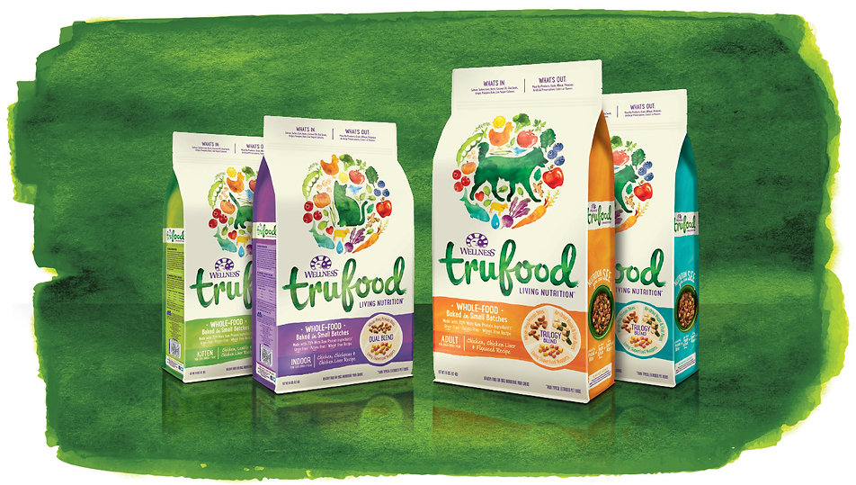 Trufood Holistic Petfood Package Design Hughes BrandMix