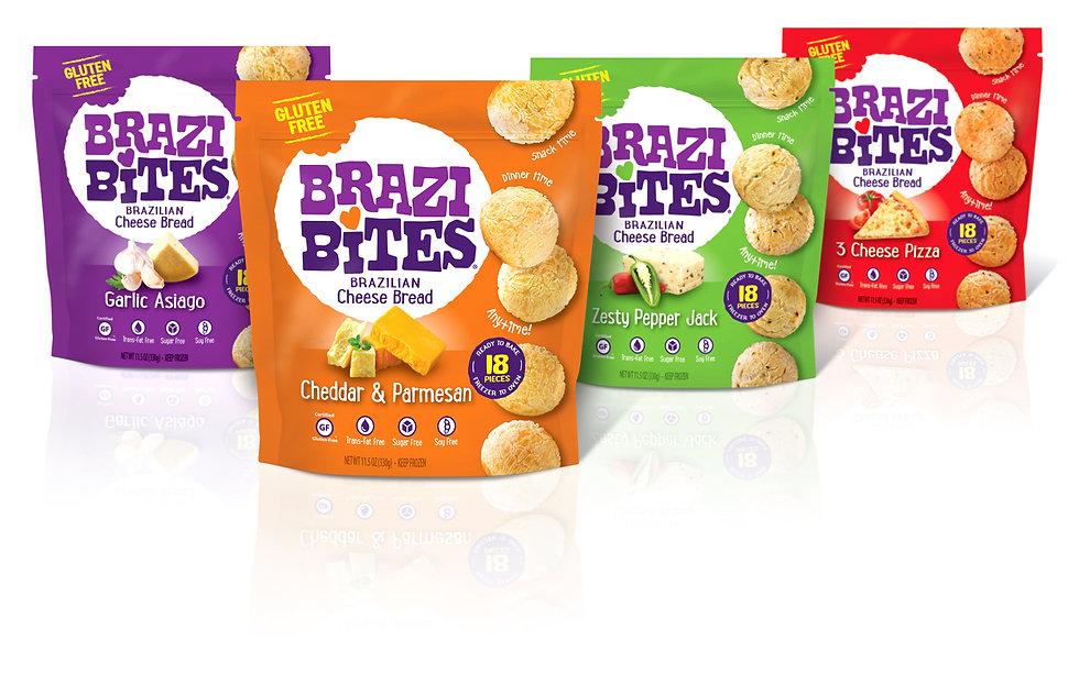 Brazi Bites Package Design Hughes BrandMix