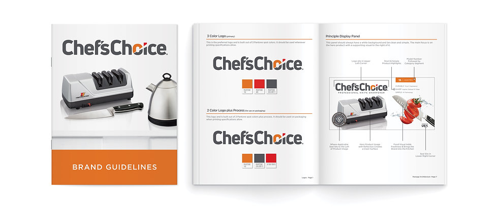 Chef's Choice Brand Style Guide