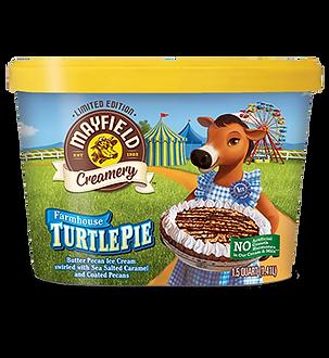 Mayfield Creamery Novelty Turtle Pie