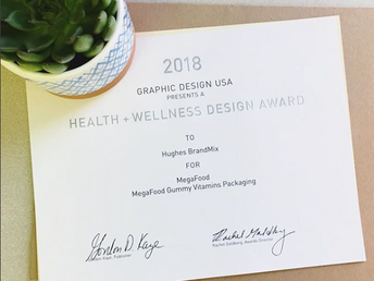 Hughes Wins American Health + Wellness Design Award!