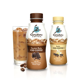 Caribou Iced Coffee Bottles by Hughes BrandMix
