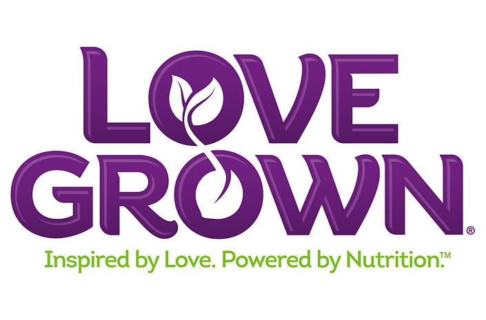 LoveGrown Logo and Identity Hughes BrandMix