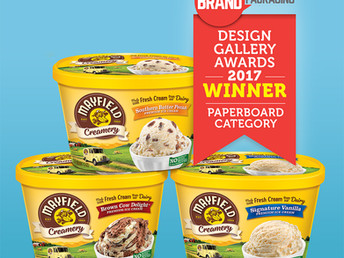 Hughes Wins Brand Packaging Design Gallery Award!
