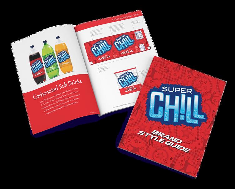 Super Chill Brand Style Guide Hughes BrandMix