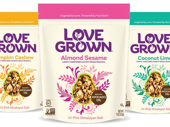Love Grown Launches Ancient Grain Granola