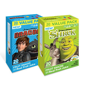 Dreamworks Fruit Snacks