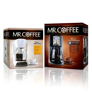 Mr Coffee Machine Packaging