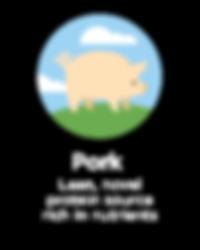Hughes BrandMix Adirondack Iconography Pork