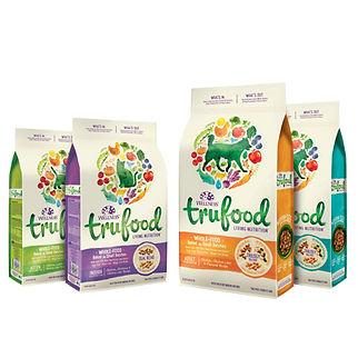 Trufood Holistic Dog Food Package Design