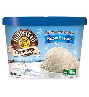 Mayfield Creamery Novelty Snow Cream