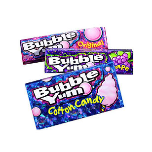 Bubble Yum Packaging