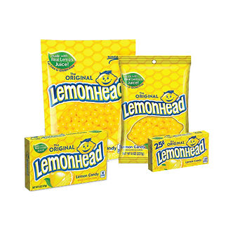 Lemonhead Package Design
