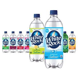 White Rock Seltzer Package Design Hughes BrandMix