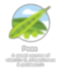 Hughes BrandMix Adirondack Iconography Peas