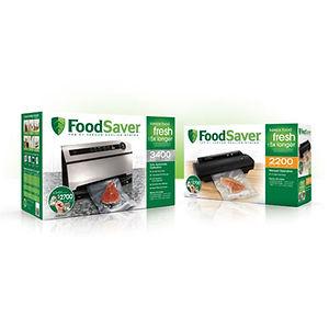 FoodSaver Packaging Design