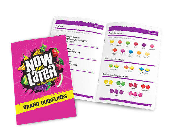 Now and Later Brand Style Guide