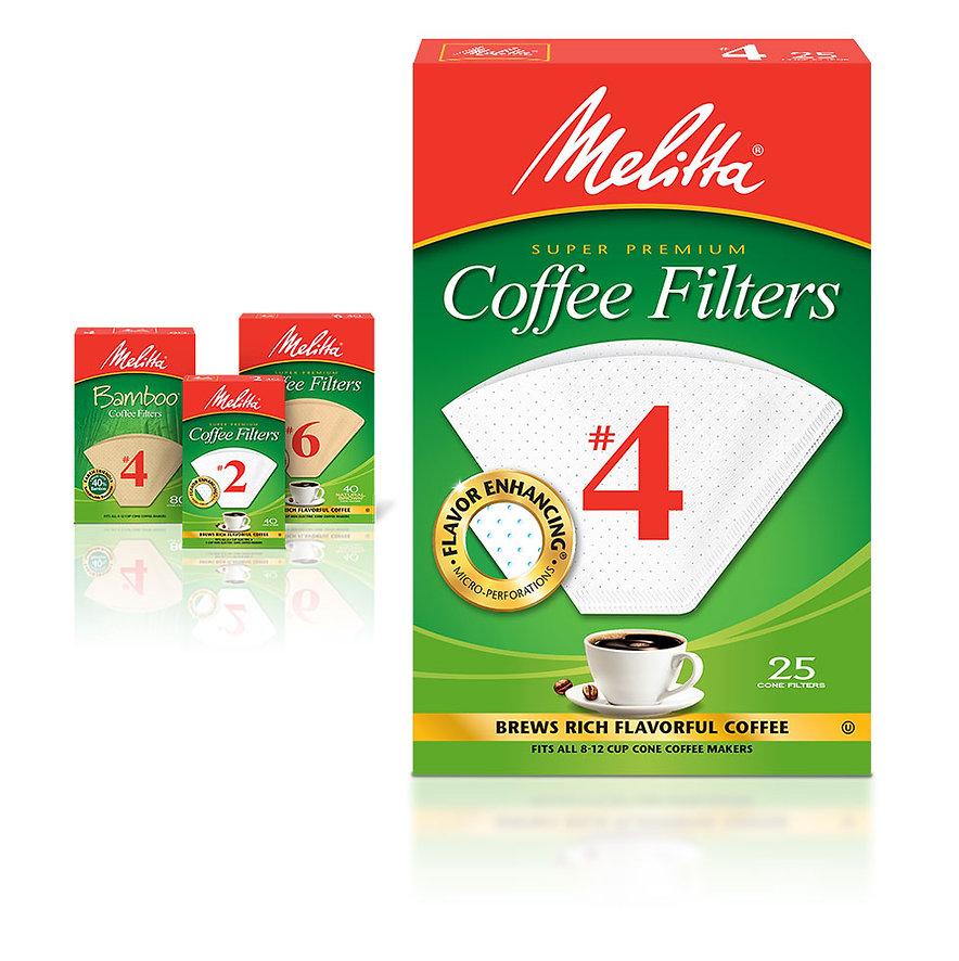 Melitta Super Premium Coffee Filters