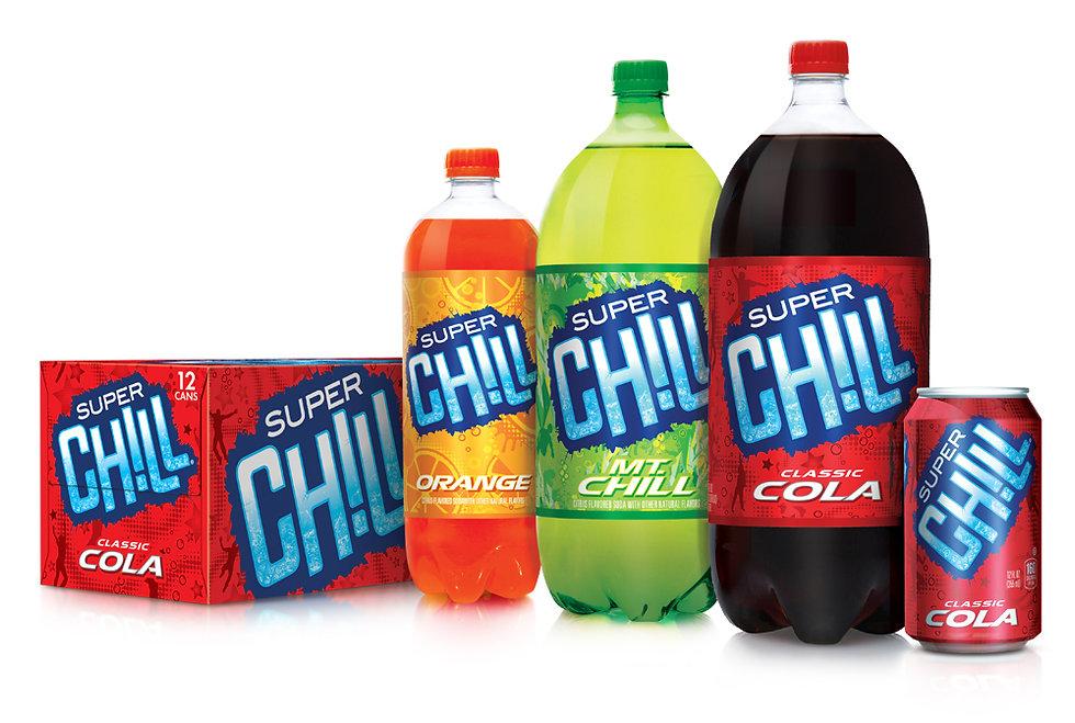 Super Chill Brand Package Design Hughes BrandMix