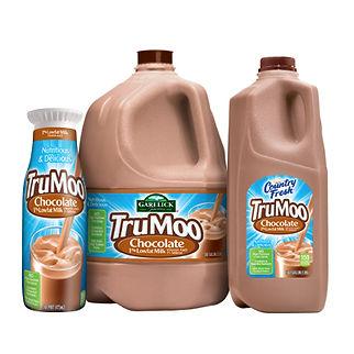 TruMoo Chocolate Milk Packaging Hughes BrandMix