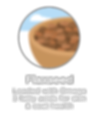 Hughes BrandMix Adirondack Iconography Flaxseed
